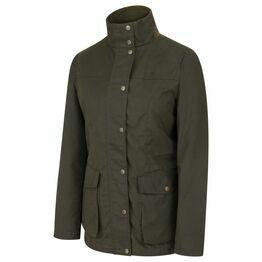 Hoggs Caledonia Ladies Wax Jacket - Antique Olive
