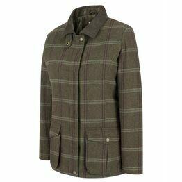 Hoggs Musselburgh Ladies Tweed Field Coat - Bracken Tweed