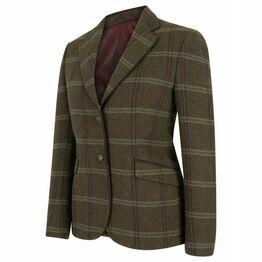 Hoggs Musselburgh Ladies Tweed Hacking Jacket - Bracken Tweed