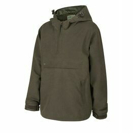 Hoggs Struther Junior Waterproof Smock Jacket - Dark Green