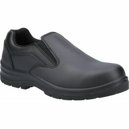 Amblers Safety AS716C Women's Slip On Safety Shoes in Black
