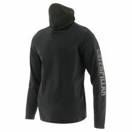 Caterpillar Viraloff Long Sleeve Gaiter T-Shirt in Black