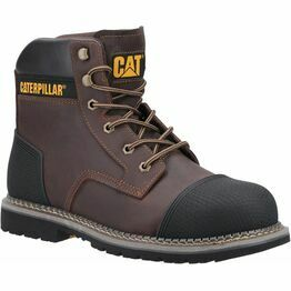 Caterpillar Powerplant S3 Safety Boot in Brown