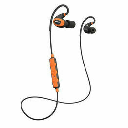 ISOtunes PRO 2.0 Bluetooth Noise-Isolating Earbuds in Orange