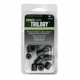 ISOtunes TRILOGY™ Foam Replacement Eartips (Pack of 5 - Medium)