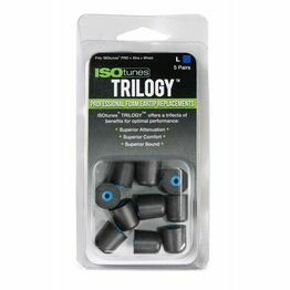 ISOtunes TRILOGY™ Foam Replacement Eartips (Pack of 5 - Large)