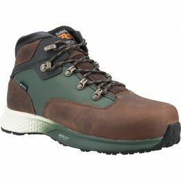 Timberland Pro Euro Hiker Composite Safety Boot in Brown/Green