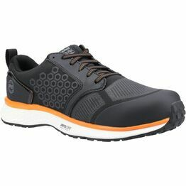 Timberland PRO Reaxion Composite Safety Trainer in Black/Orange