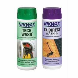 Nikwax Tech Wash & TX.Direct Wash-In