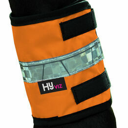 HyVIZ Leg Bands - Orange/Black