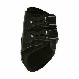 Boyd Martin Leather Fetlock Boot Snap Closure - Black