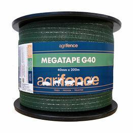 Agrifence Megatape G40 Reinforced Tape - Green (40mm x 200m)