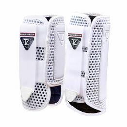Equilibrium Tri-Zone Impact Sports Boots - White