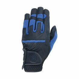 Hy Signature Riding Gloves - Navy/Blue