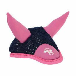 Little Unicorn Fly Veil - Navy/Pink