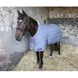 DefenceX System 300 Stable Rug - Grey/Berry/Cool Blue