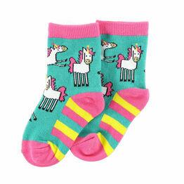 LazyOne Girls Infant Socks - Unicorn