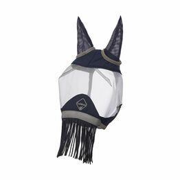 Lemieux Armour Shield Fly Protector Defender Mask - Navy/Grey