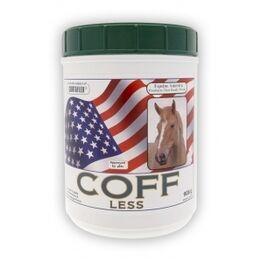 Coff-Less Powder. Aids upper and lower respiratory health Equine America