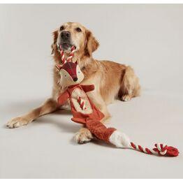 Joules Heritage Tweed Rope Fox Pet Toy