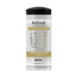Wahl Refresh Cleaning Wipes - Cat - Coconut & Lime Verbena