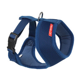 House of Paws Memory Foam Harness - Navy
