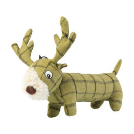 House of Paws Tweed Plush Long Body Toy