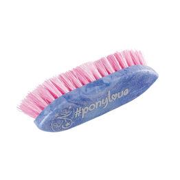 Haas Ponylove Mane Brush - Blue Glitter