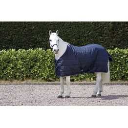 Hy Signature 250g Stable Rug - Navy/Red/Blue - 7'3