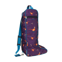 Hy Equestrian Patrick the Pheasant Boot Bag - One Size