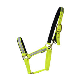 Hy Equestrian Reflective Fieldsafe Head Collar - Yellow/Reflective