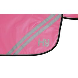 HyVIZ Reflector Mesh Exercise Sheet - Pink