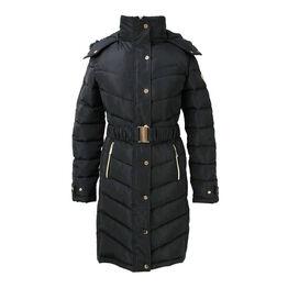 Coldstream Branxton Long Quilted Coat - Black