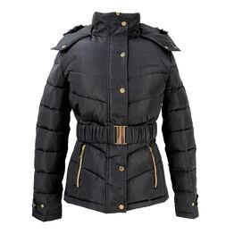 Coldstream Cornhill Quilted Coat - Black