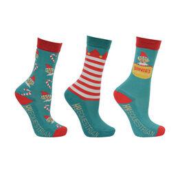 Hy Equestrian - Children's Elf Socks (Pack of 3) - Child 8-12