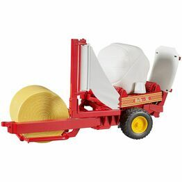Bruder Bale wrapper with round bales