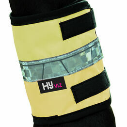 HyVIZ Leg Bands - Yellow/Navy