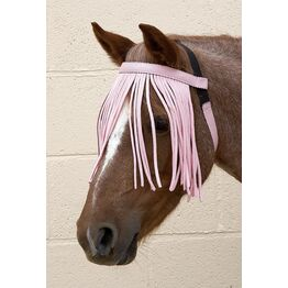 Hy Equestrian Free Fit Fly Fringe - Pink