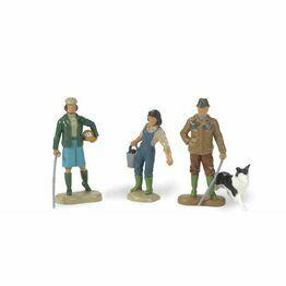 Britains Farming Family & Sheepdog Toy