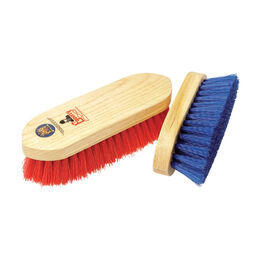 Equerry Wooden Dandy Brush - Polypropylene - Red