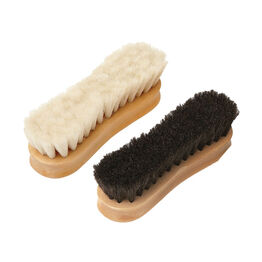 Equerry Wooden Goat Hair Face Brush