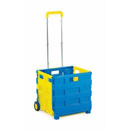 GPC Folding Box Truck - GI040Y - Blue/Yellow