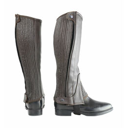 HyLAND Leather Half Chaps - Brown