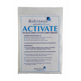 Robinson Activate - Pack of 5 Dressings - 10cm x 15cm