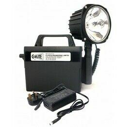 Clulite (CB2-L1) Clubman Deluxe LI-ION Spot Beam Lamp/Torch 9.2AH