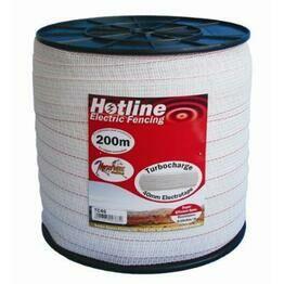 Hotline TC46-2 Turbo Tape 40mm x 200m - White