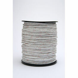 Hotline Electric Fencing 6MM White Rope - 200m