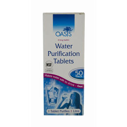 Oasis Water Purification Tablets - Pack of 50