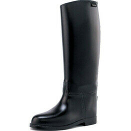 Toggi Gymkhana Childrens/Youths Long Riding Boots - Black Clearance price