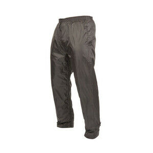 Target Dry Mac In A Sac 2 Kids Packaway Waterproof Overtrousers - Black